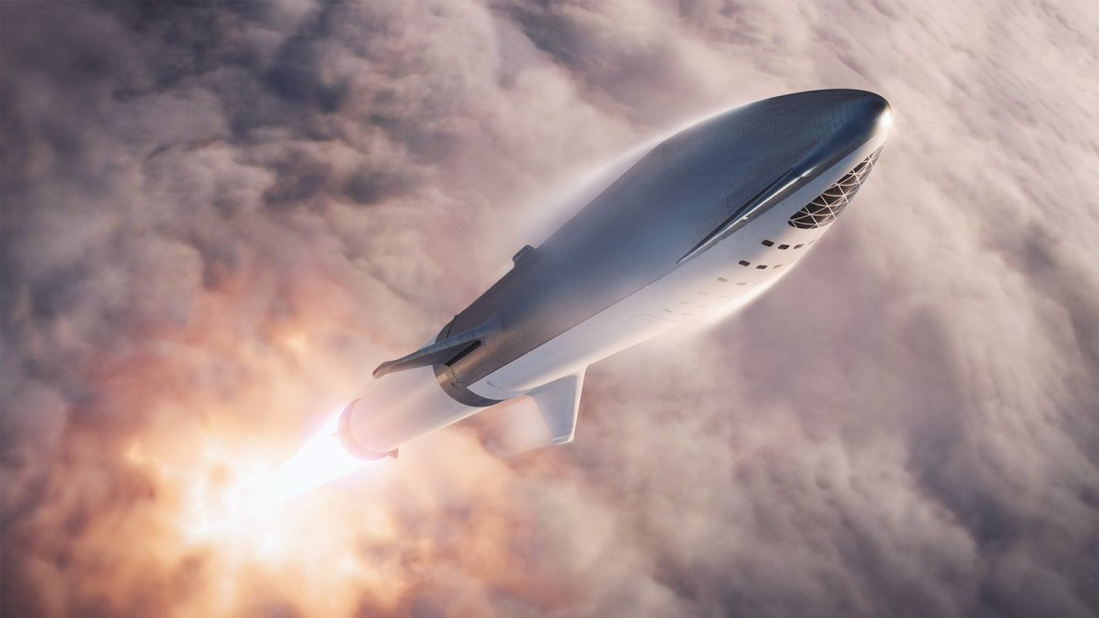 Elon Musk renamed Big Falcon Rocket Starship