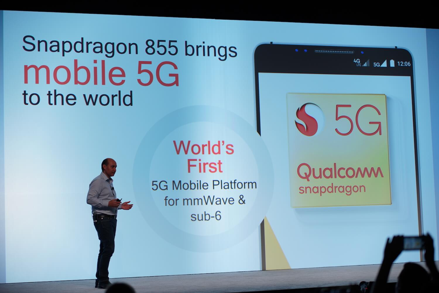 Qualcomm introduced the Snapdragon 855 — chip for flagship 2019