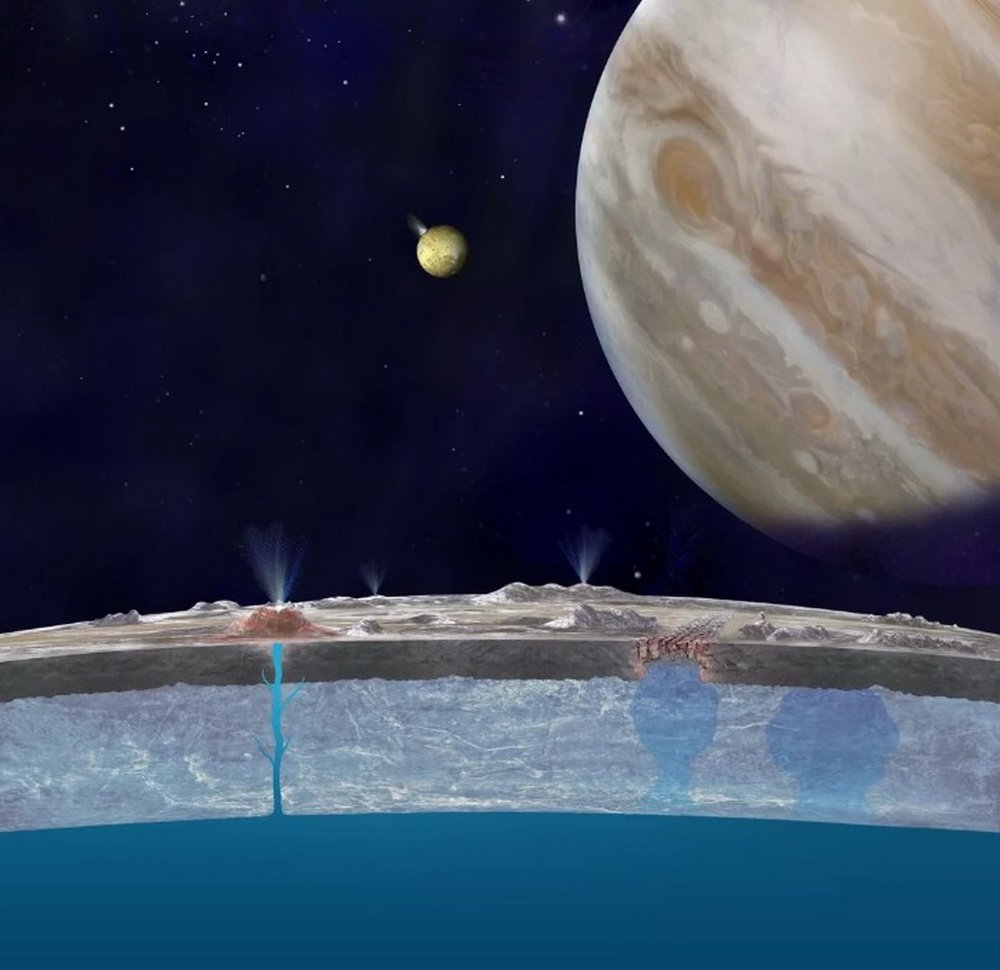 Scientists propose to build a nuclear drill to search for life on Jupiter's moon