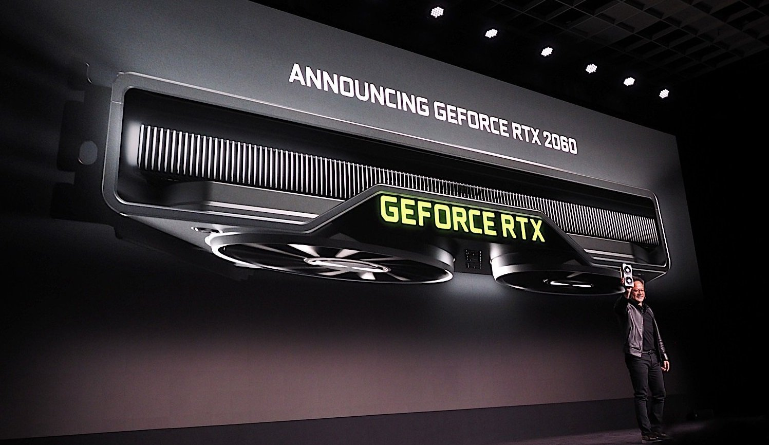 #CES | told and showed Nvidia for the presentation