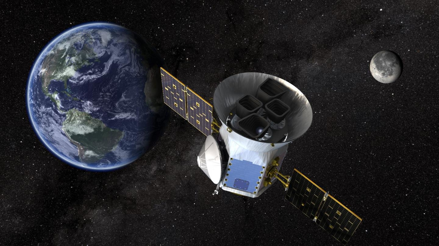 Amazing finds new exoplanet hunter NASA: telescope TESS