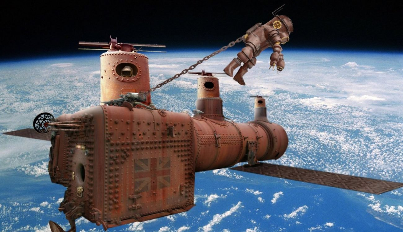 Steampunk close: developed the concept of steam space probe