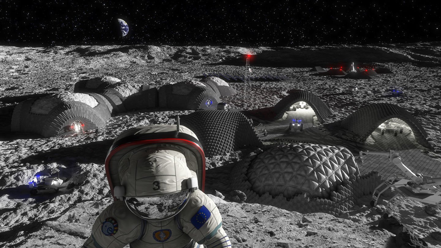 ESA will develop a new material for spacesuits, lunar colonists
