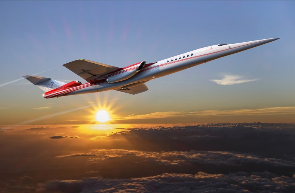 Boeing and Aerion are going to launch the first supersonic business jet