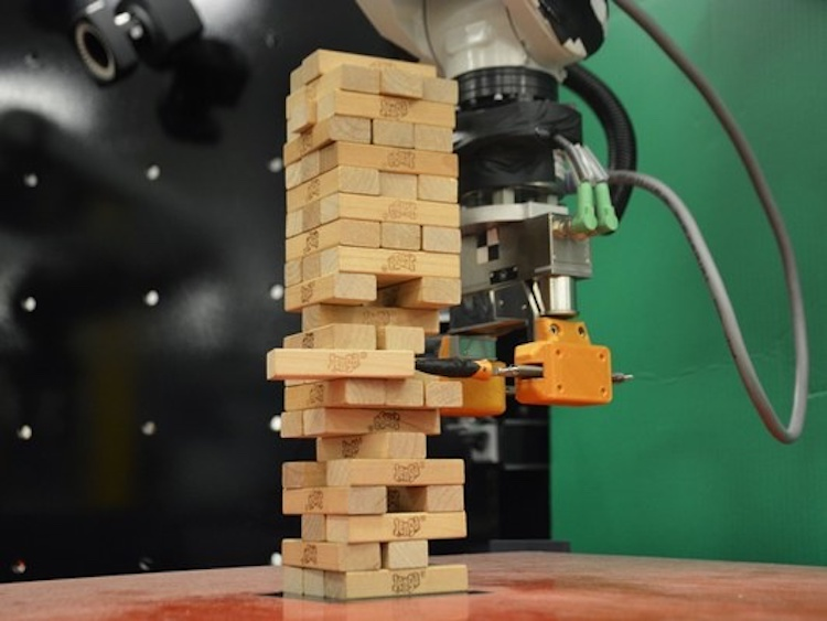 The robot learned how to play jenga. Why is it important