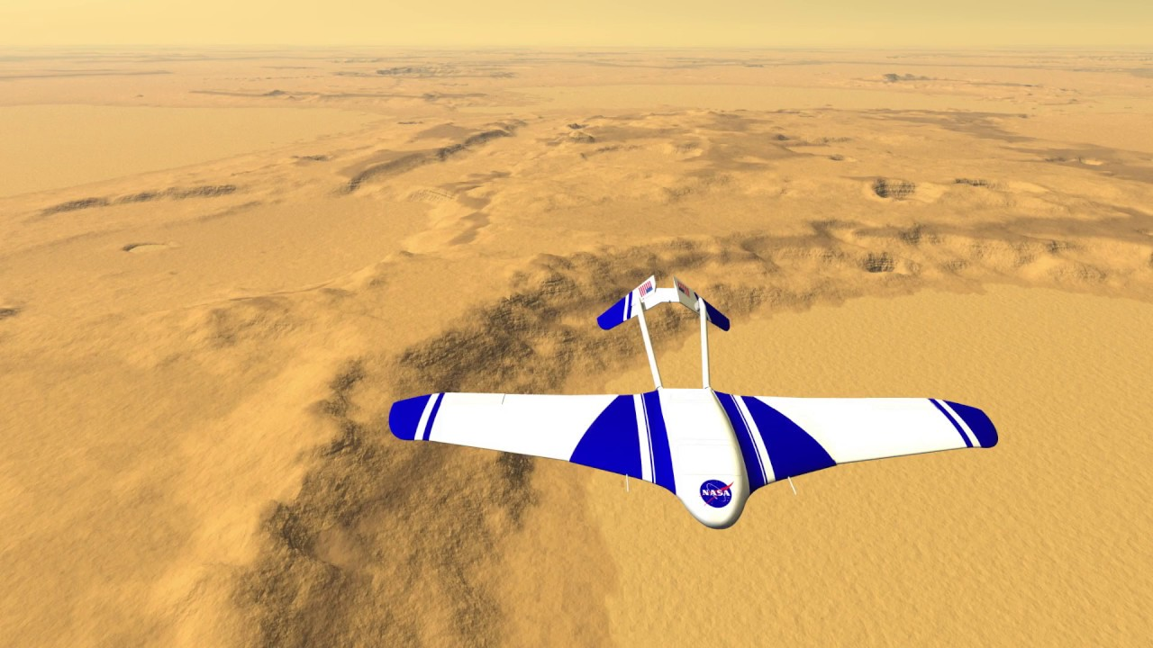 For the future exploration of Mars would be the best airframe