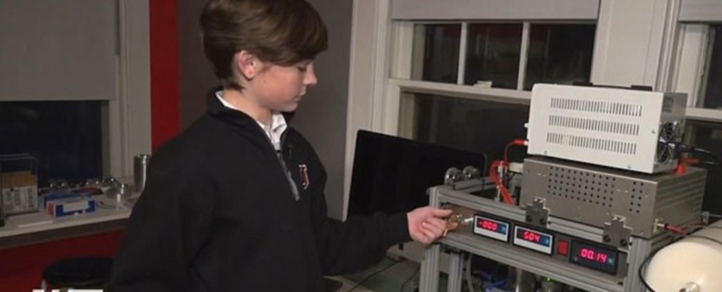 13-year-old Jackson Oswalt became the youngest person to build a fusion reactor
