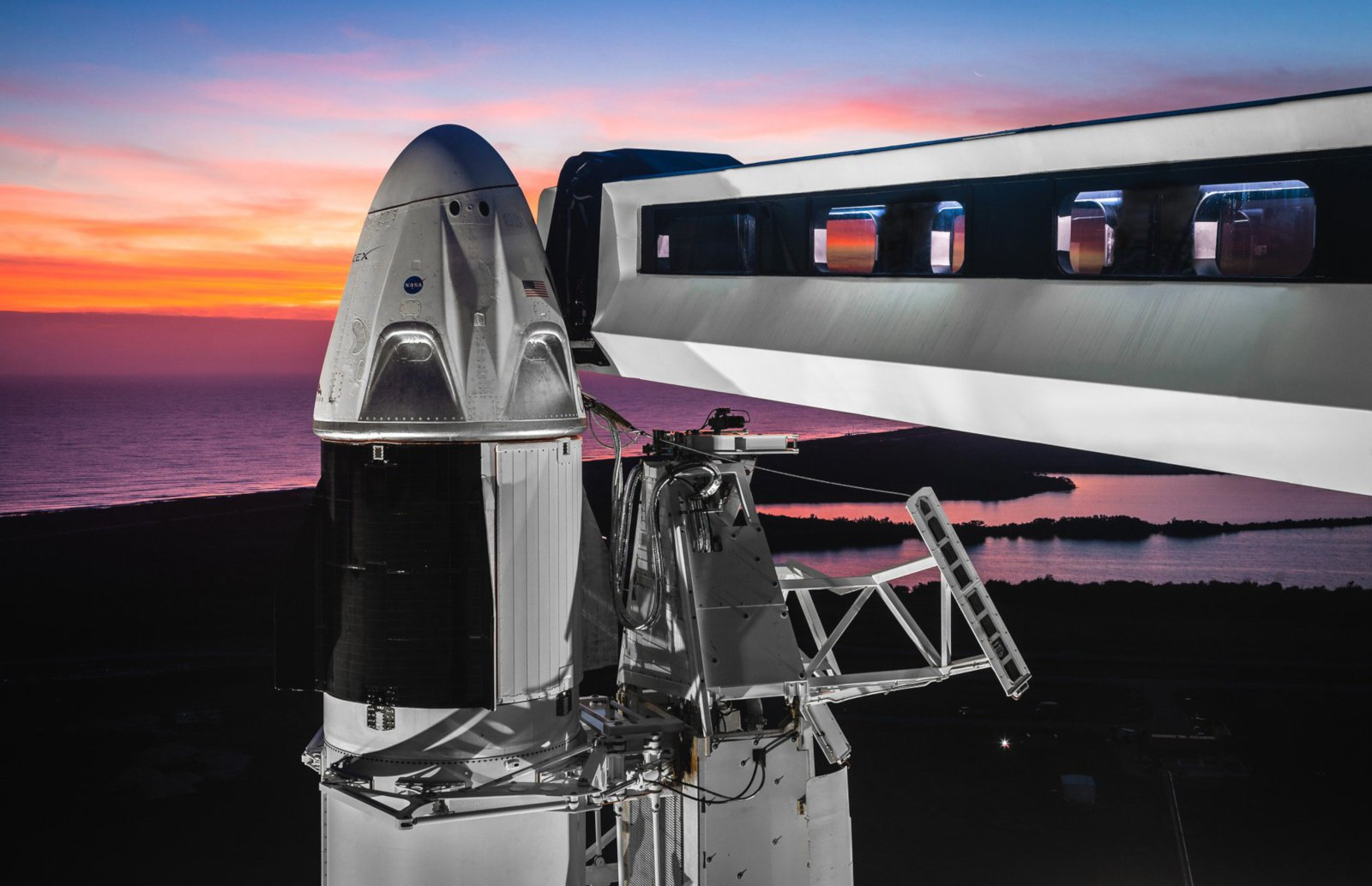 SpaceX has postponed the first flight of the Crew Dragon to 2 March