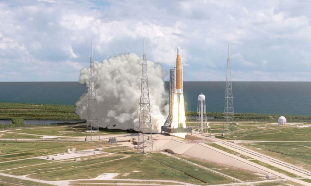 The system launches into deep space, NASA is almost ready