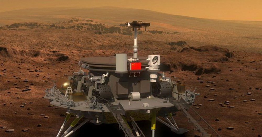 To study the red planet China will send next year's Rover