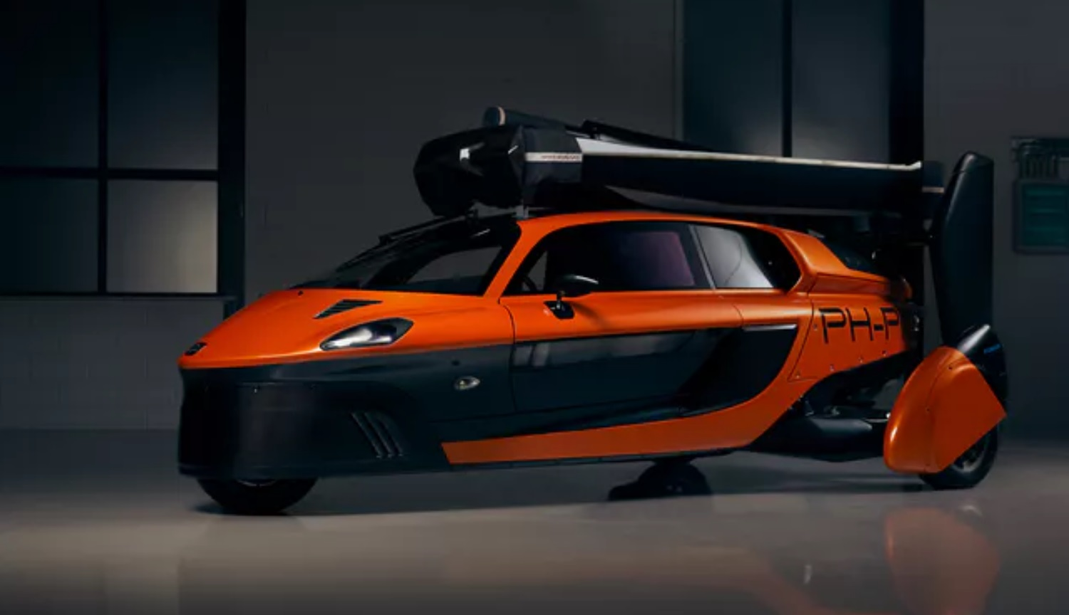 The first production flying car PAL-V concept, but a reality!