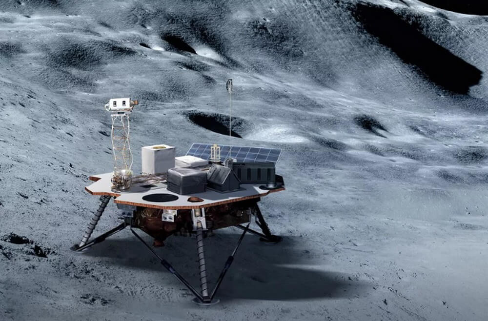 Three private companies for NASA sent landers to the moon in 2020-2021 years