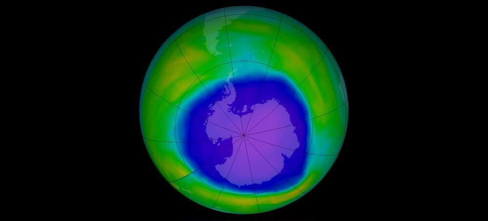 The scientists said the impact on the Ground had the presence of holes in the ozone layer