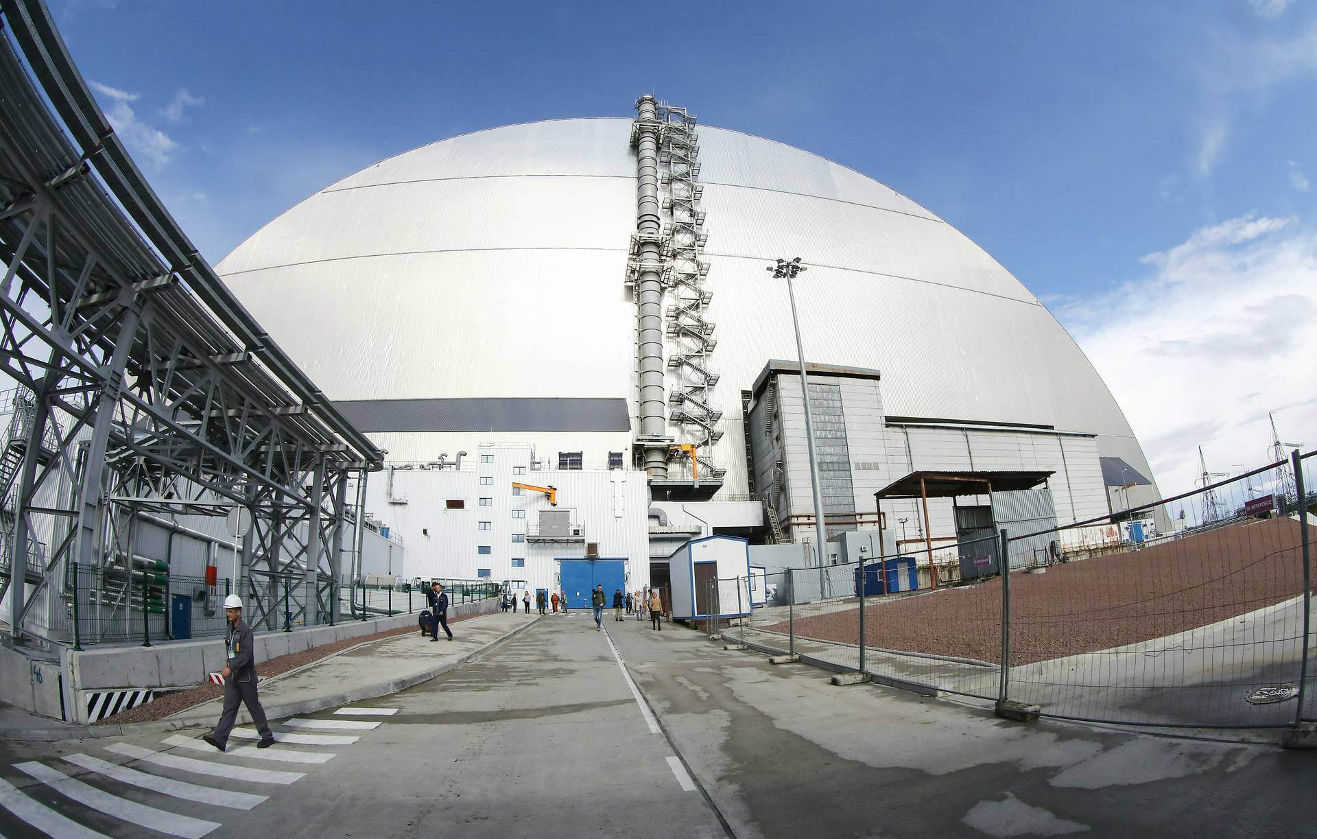 #videos | Inside the new sarcophagus of the Chernobyl nuclear power plant worth 1.5 billion euros