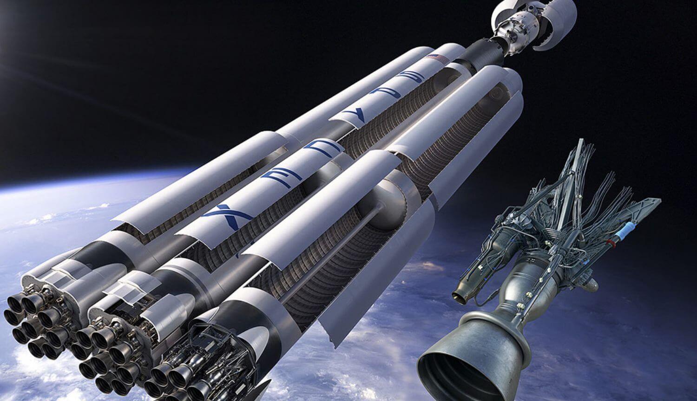 spacex falcon heavy rocket - HD1260×880