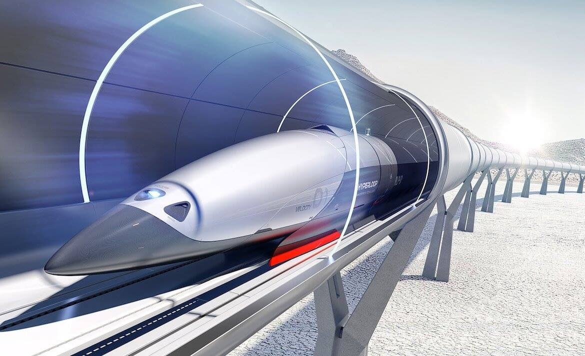 How much will it cost for the Hyperloop travel from Moscow to St. Petersburg