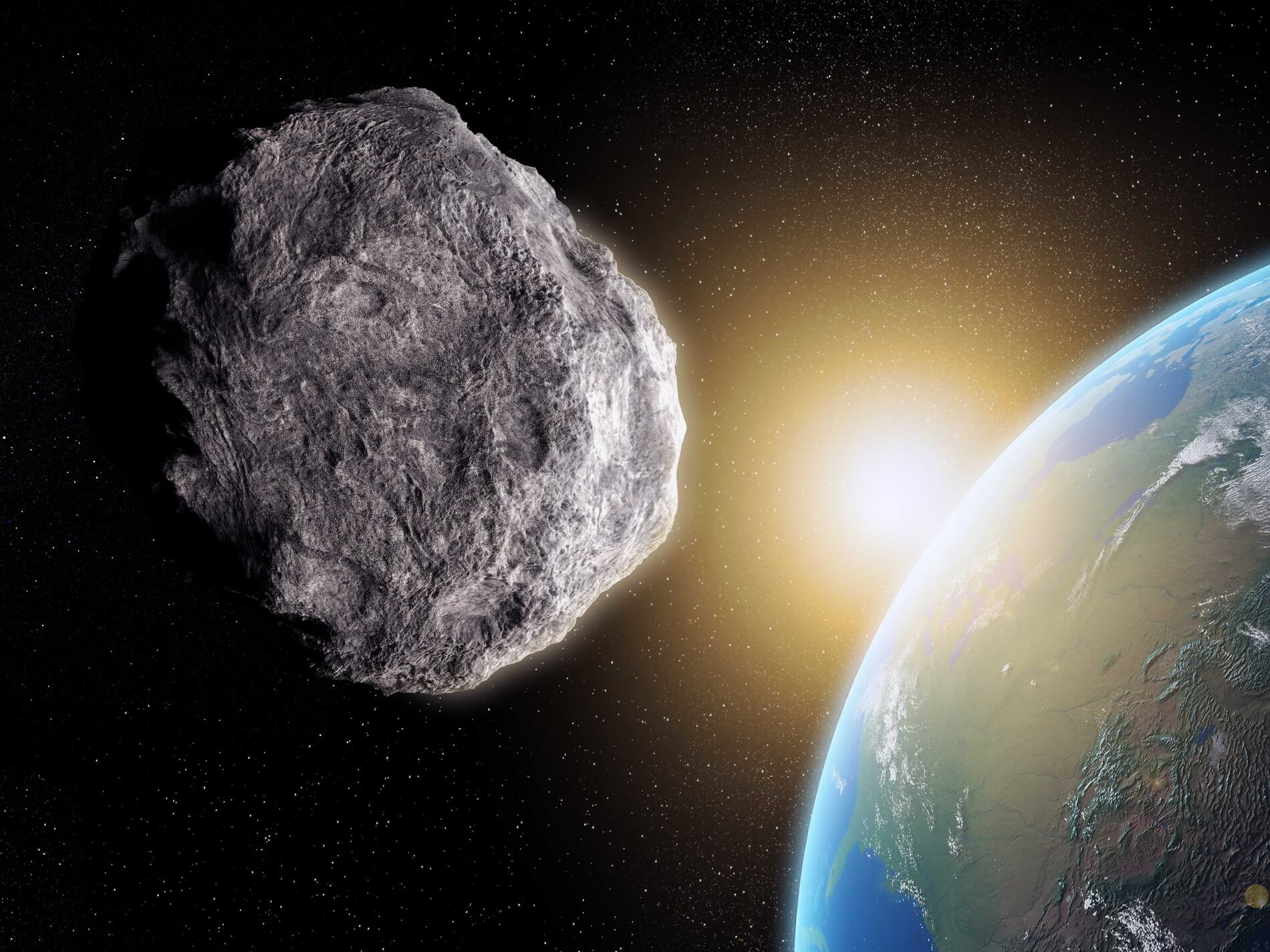 What is the probability that will fall to Earth asteroid?