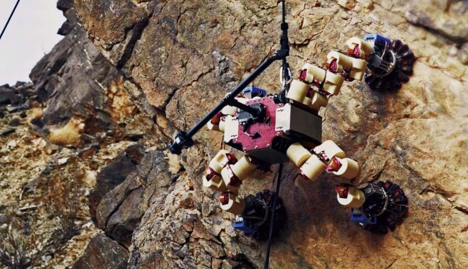 Robotic climbers on Mars. Why do they need?