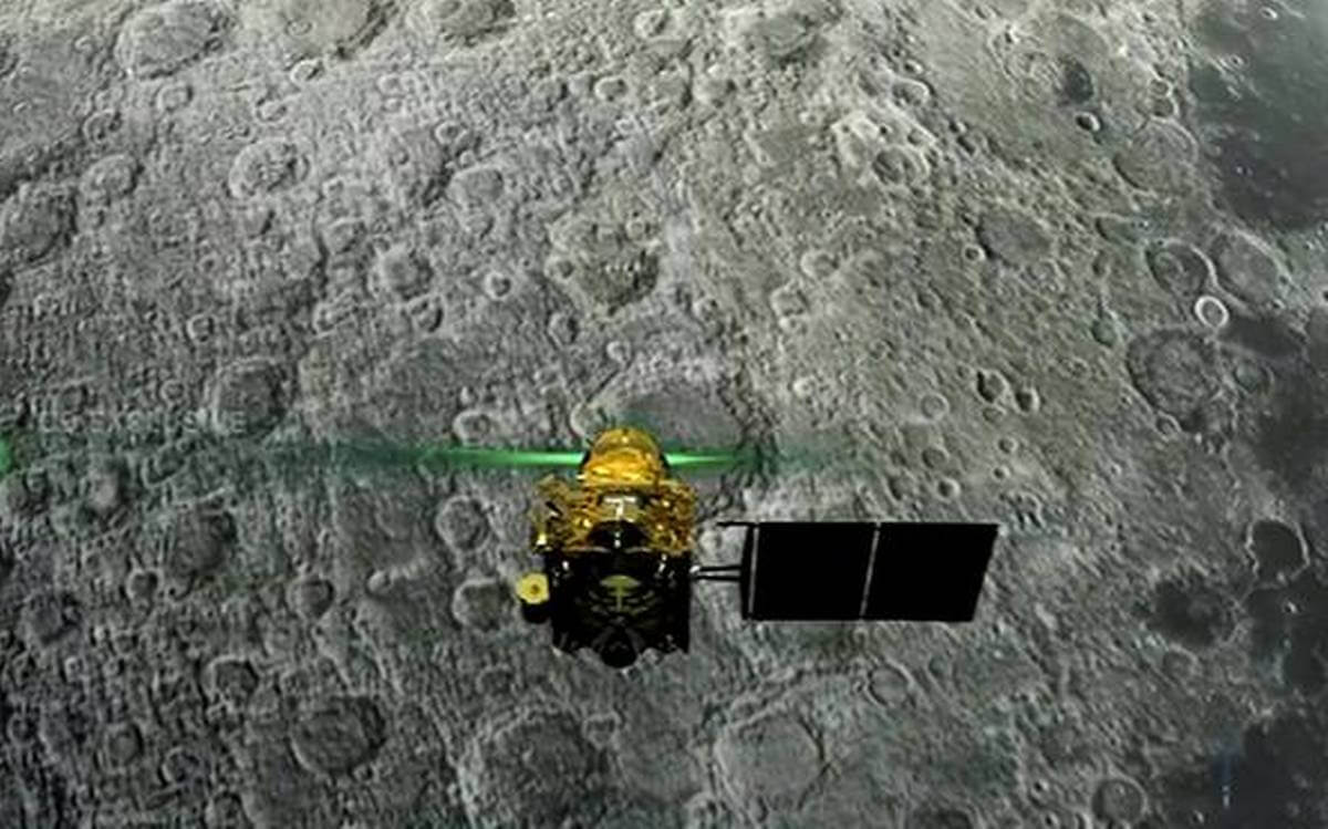 Indian månen Rover Chandrayaan-2 krasjet under landing