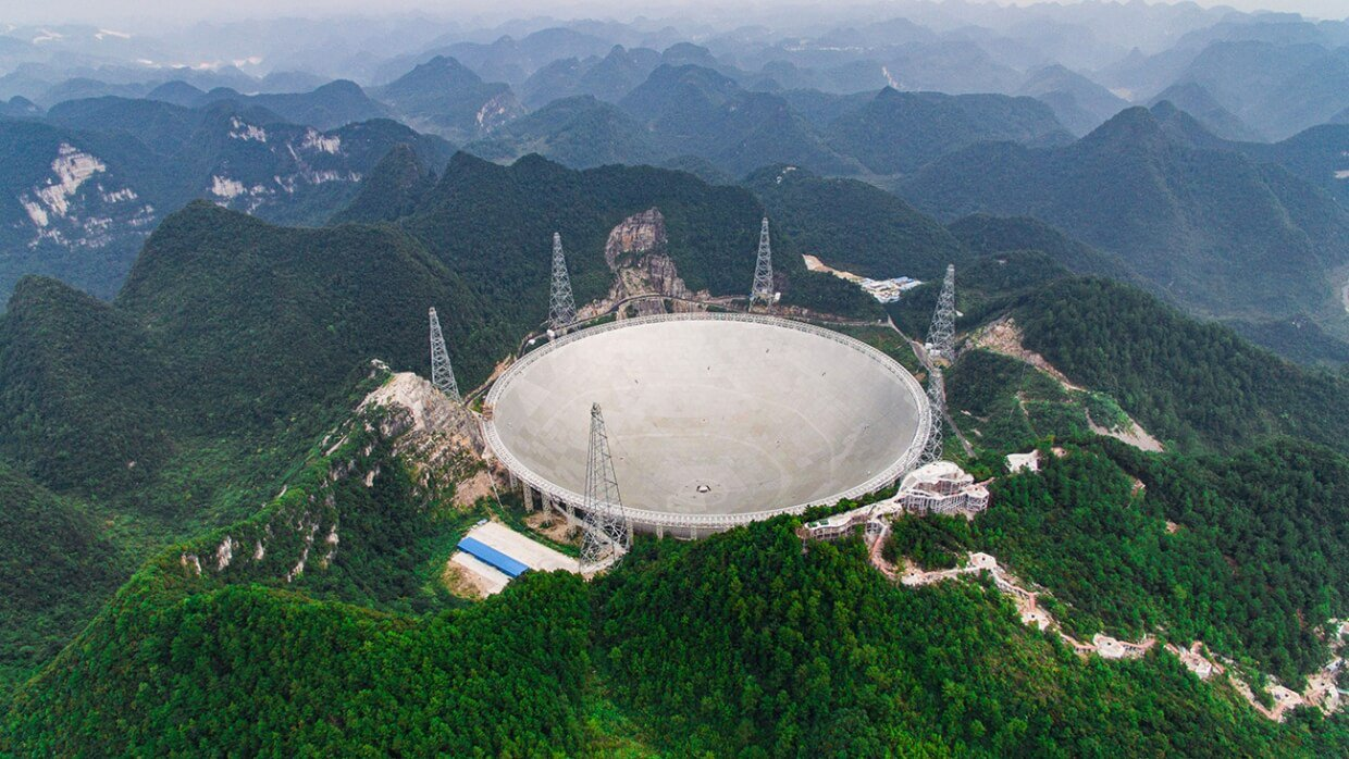 China has built a telescope to search for extraterrestrial life