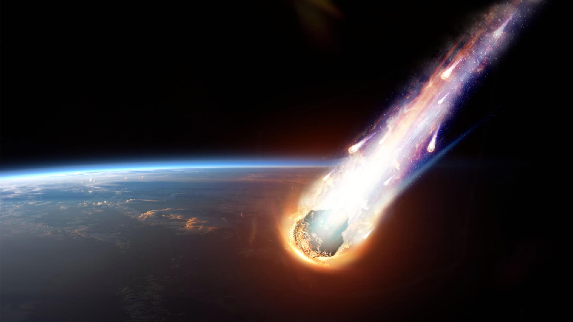 Could a meteor cause the fire?