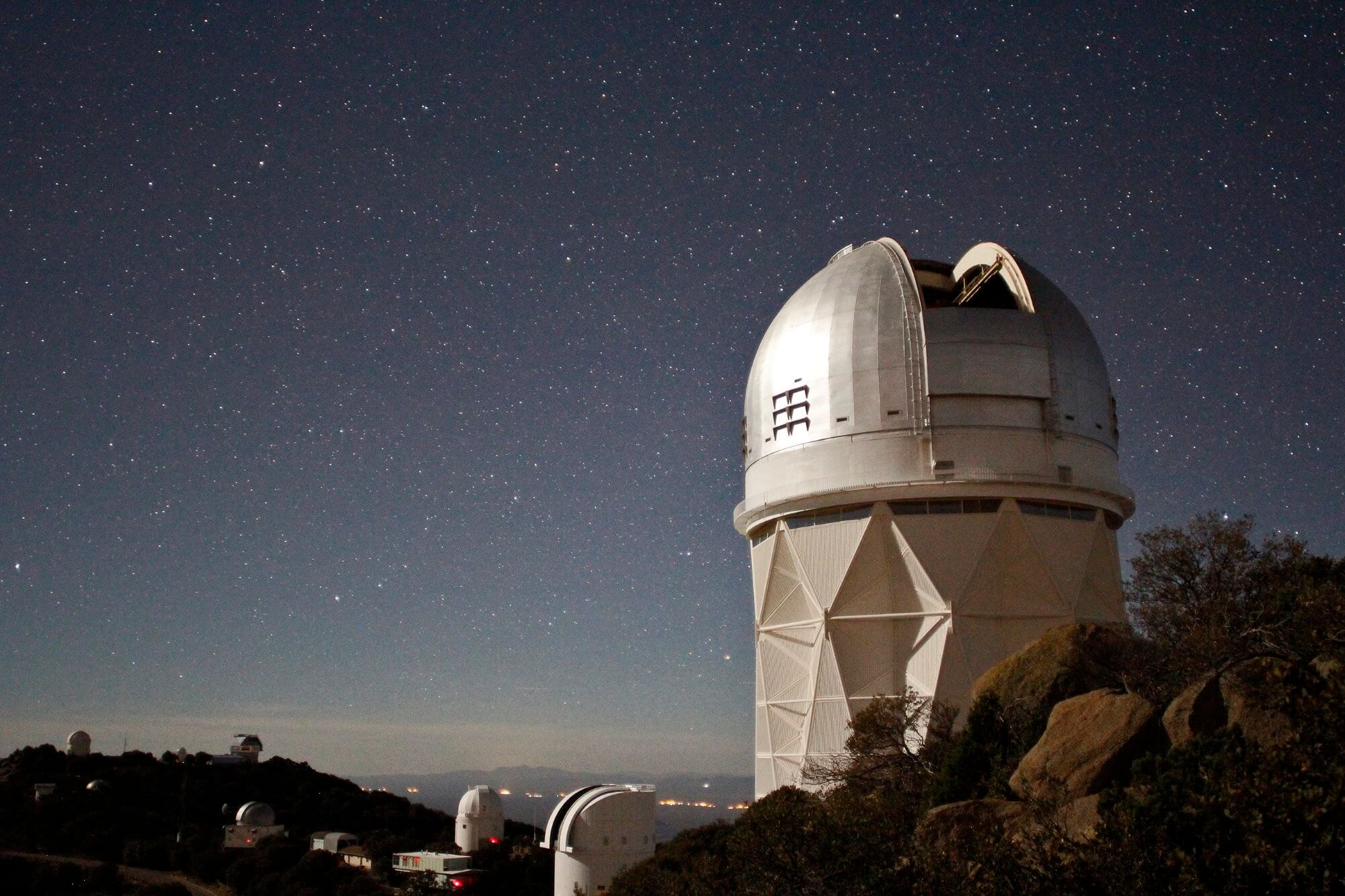 Telescope to search for dark energy will observe millions of galaxies 35