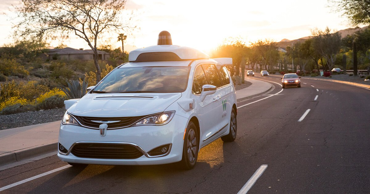 Waymo runs on the roads of the Autonomous taxi. Even without drivers