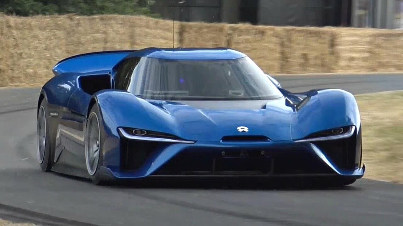 Chinese electric car Nio EP9 power of 1341 HP — the car of the future?
