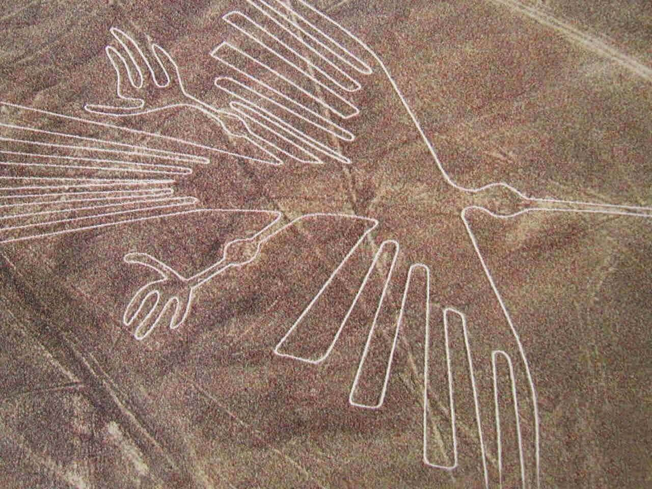 Ancient peoples drew on the Earth drawings, visible only from a great height
