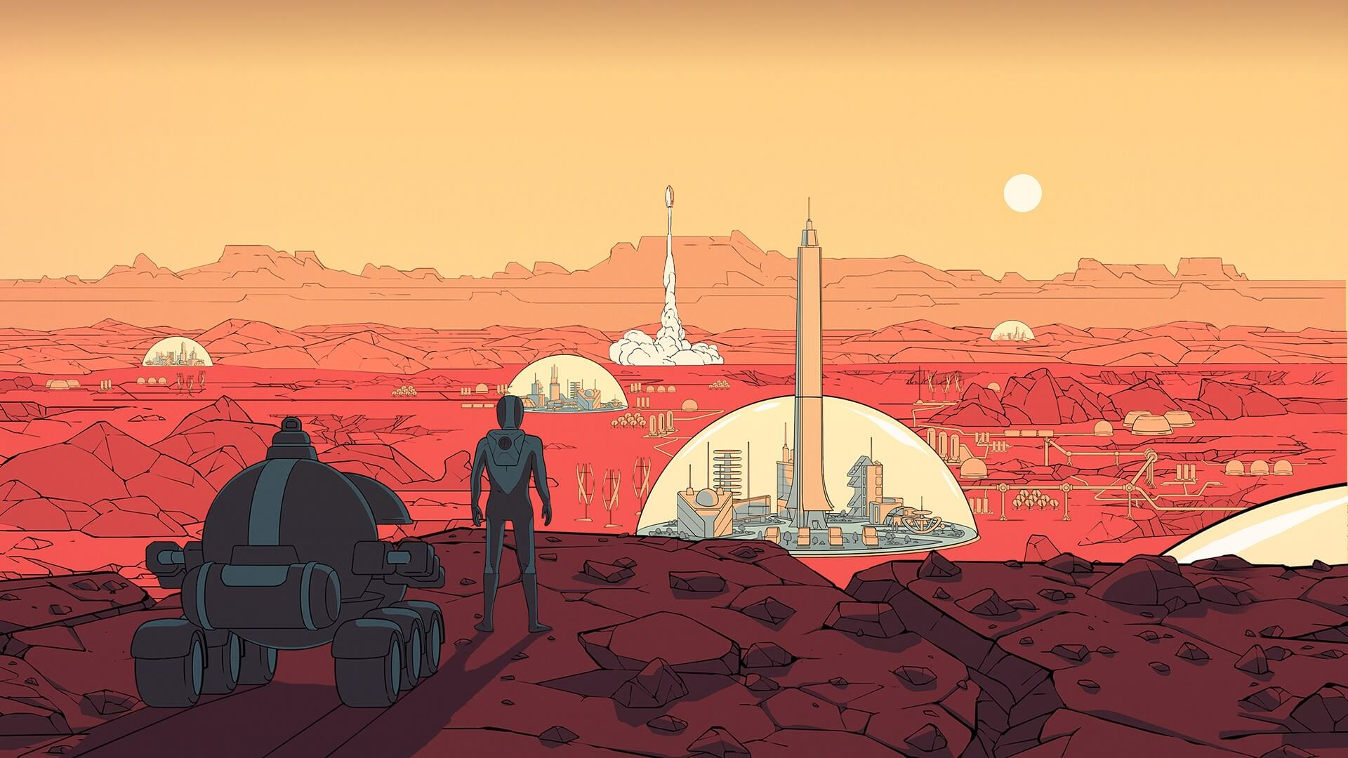Where to go tourist on Mars?