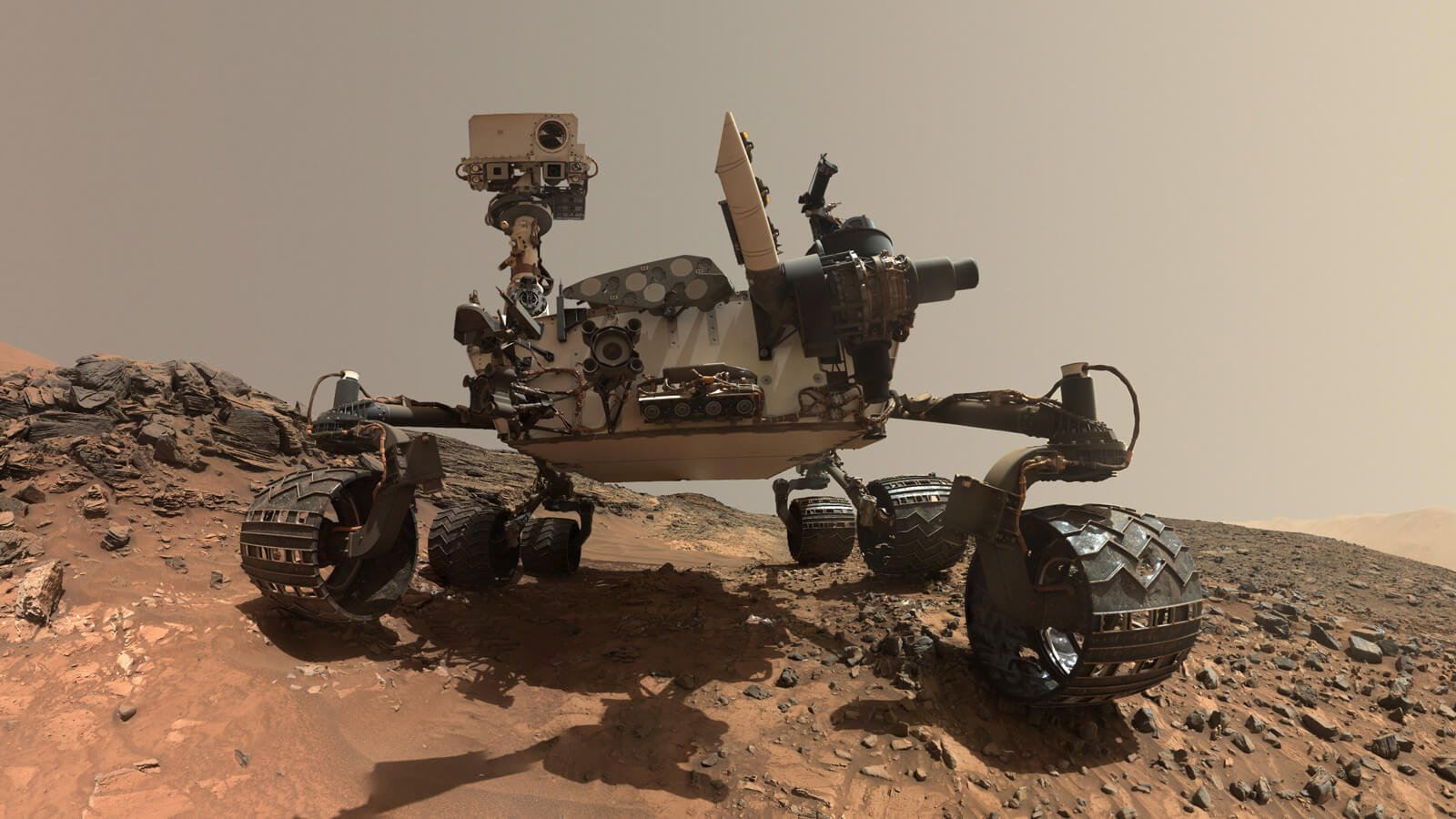 Curiosity has recorded a rise in the concentration of oxygen on Mars