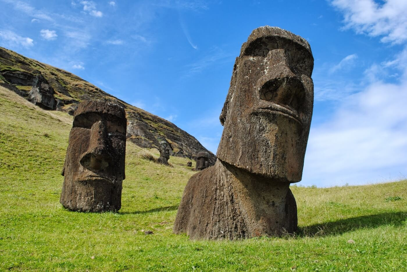 Archaeologists have solved the mystery of the statues on Easter island