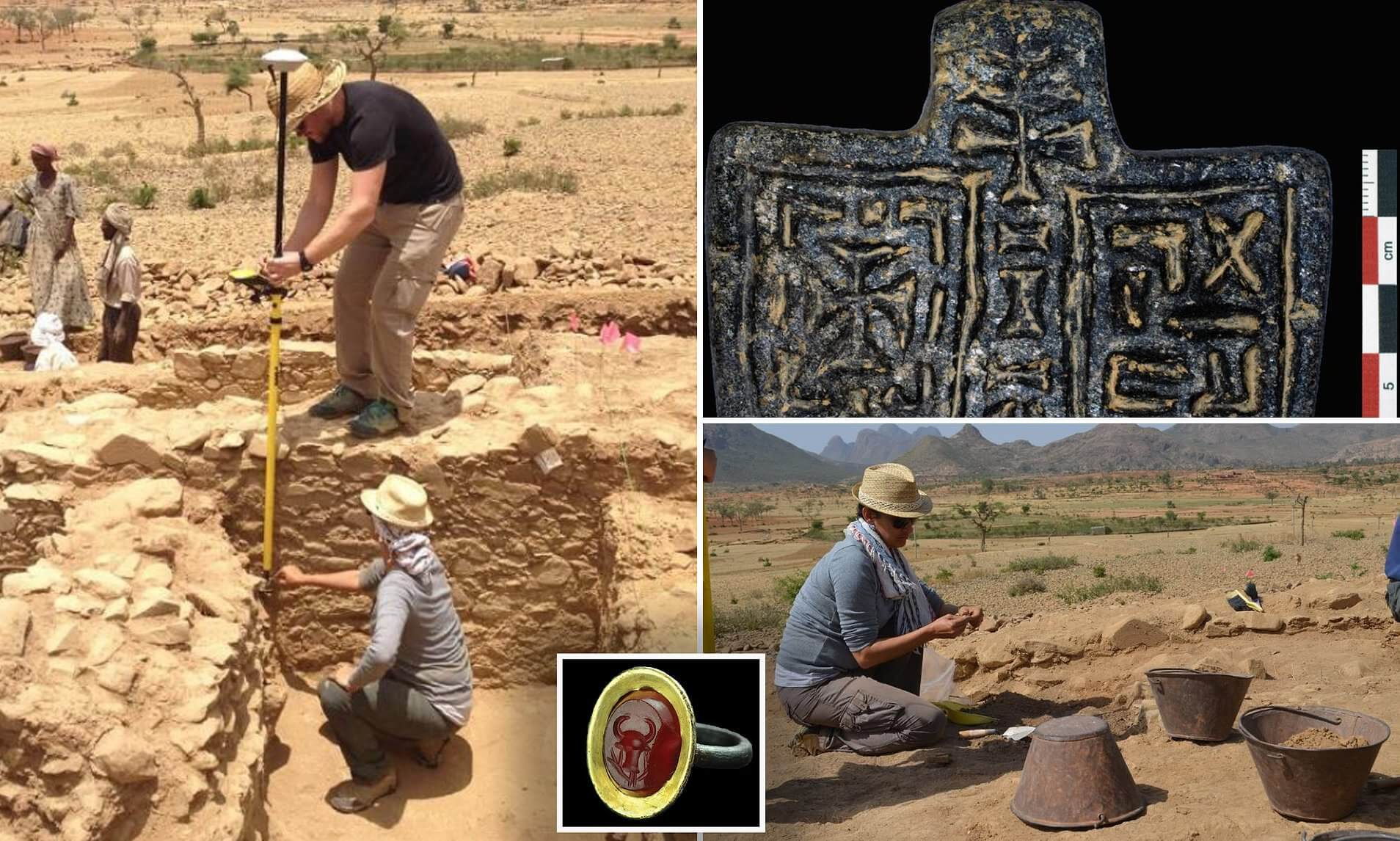 Archaeologists have studied the ruins of the mysterious African city, about which you hardly know