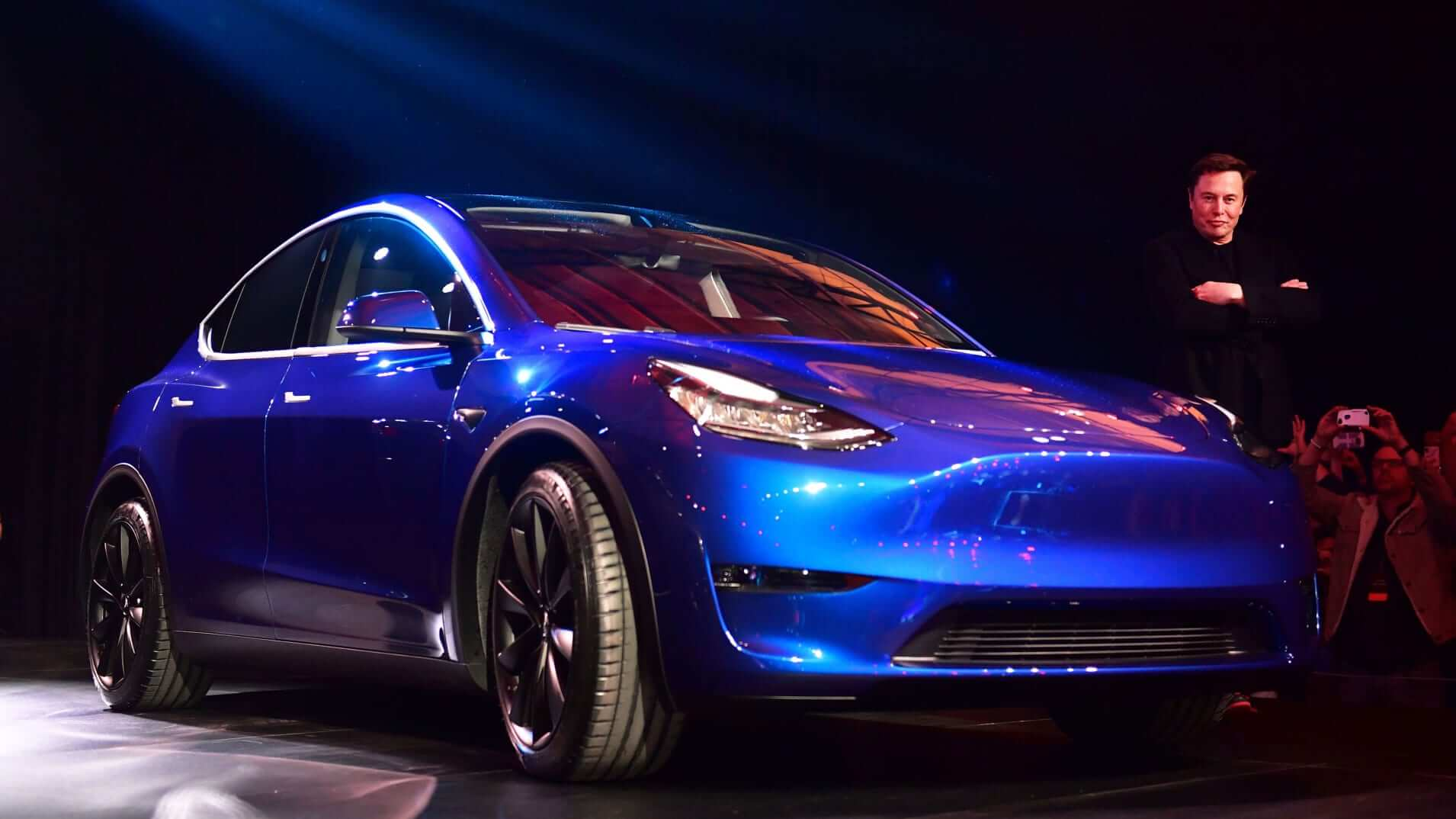 Tesla plans to start production of the Model Y in 2020
