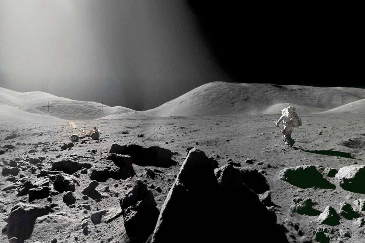 Moon dust may be dangerous to humans