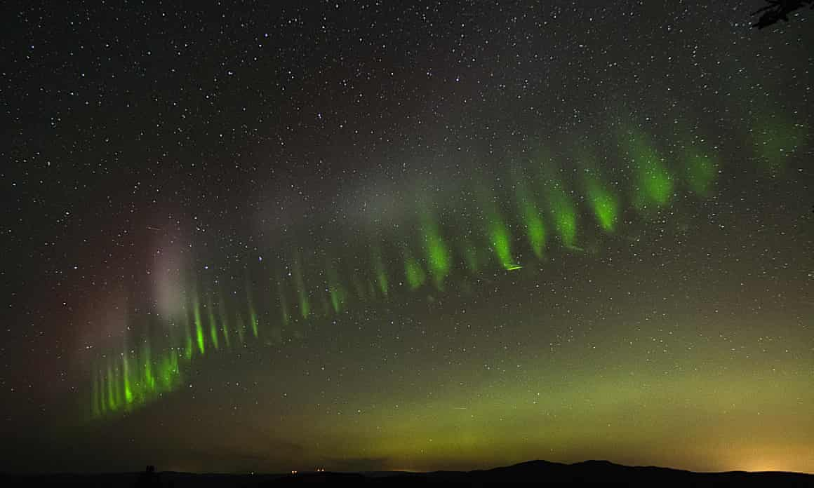 #video | the Amateur Astronomers of Finland have discovered a new species of the Northern lights
