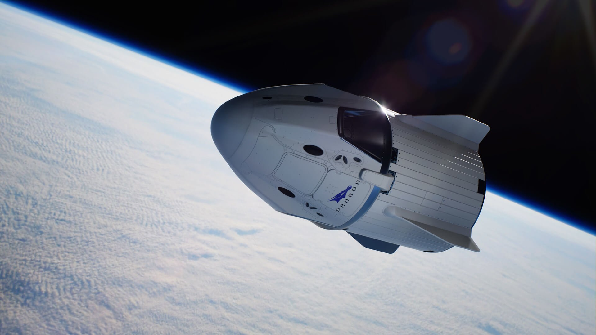 SpaceX has named the date of the first tourist flight on a spacecraft Crew Dragon