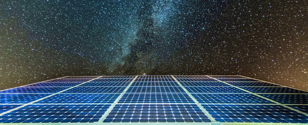 Can solar panels to generate energy at night?
