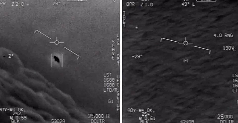 The Pentagon confirmed the authenticity of the video with UFO