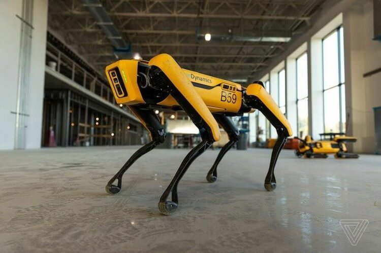 Robots Boston Dynamics help in the fight against coronavirus in the United States