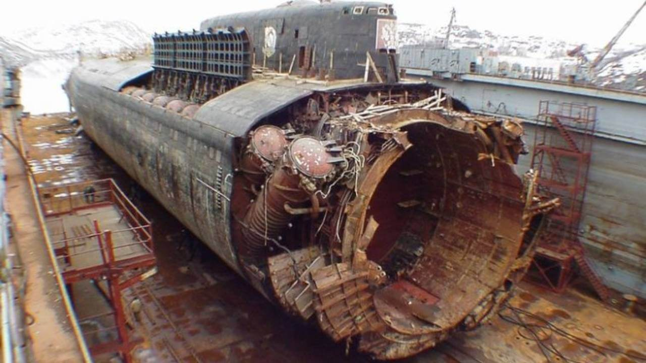 What really happened to the submarine Kursk?