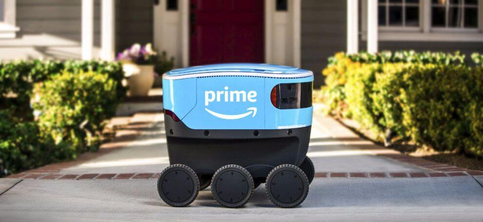 When robotic couriers will replace real people?