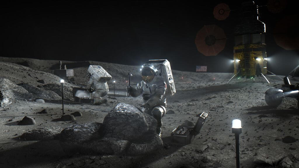 NASA has developed a policy on exploration of the moon — countries will be able to set their own boundaries
