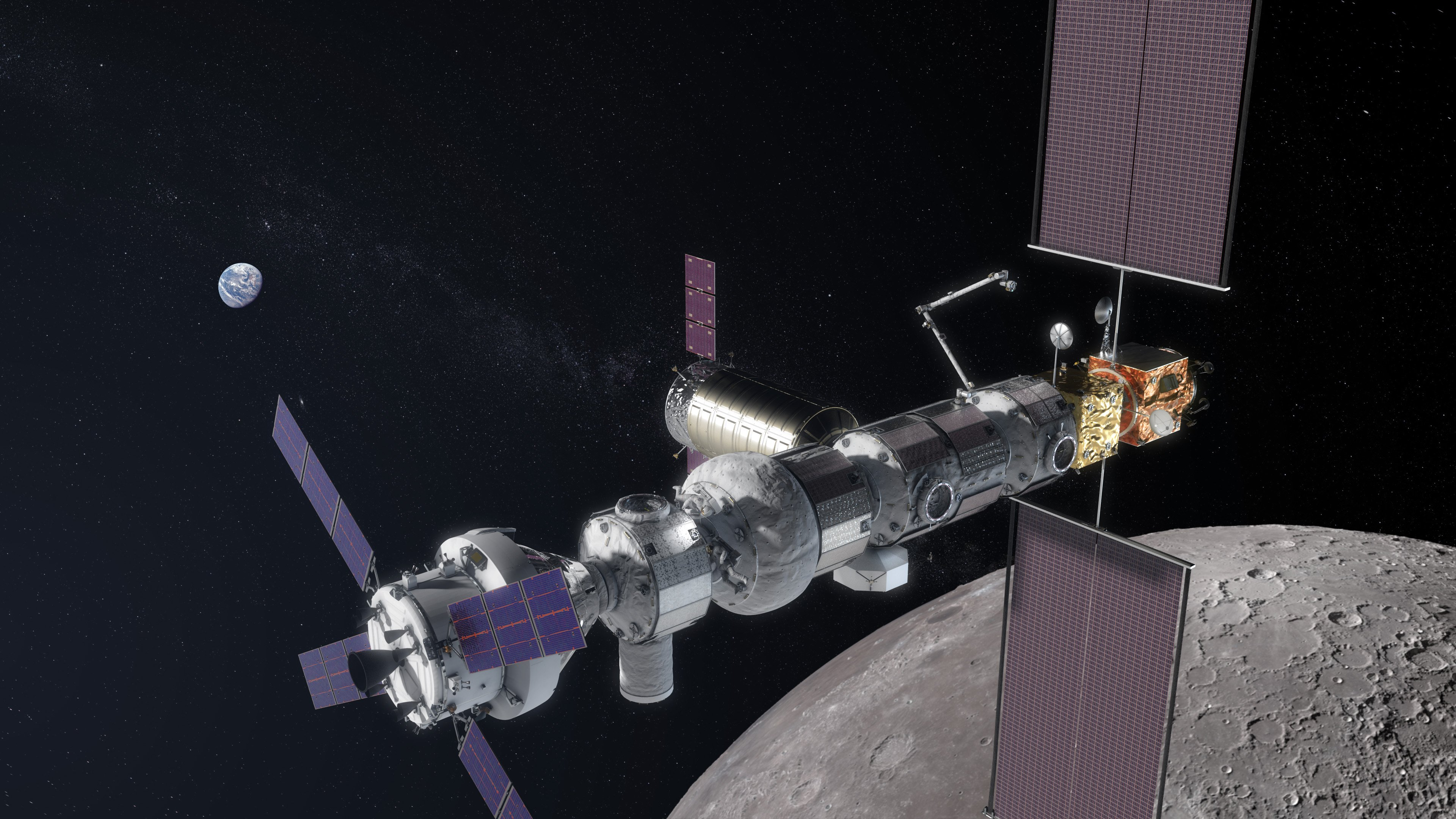 ISS want to close? The United States will launch the lunar station in 2023