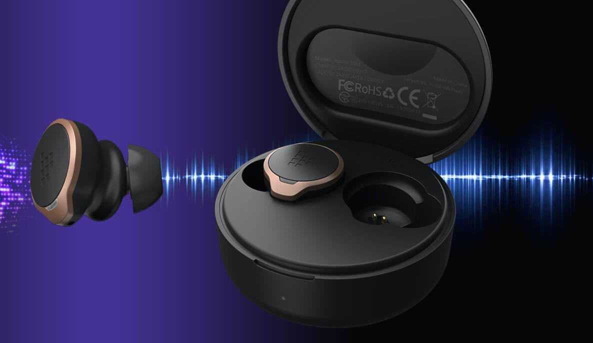 That can headphones with hybrid noise reduction, and a Qualcomm chip
