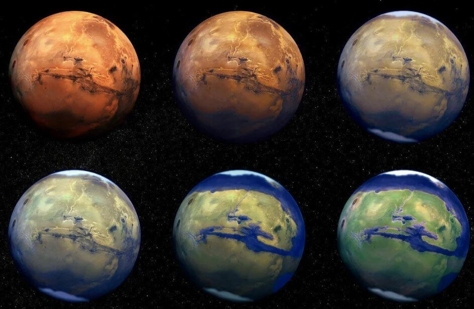 Looked like Mars millions of years ago? A new theory